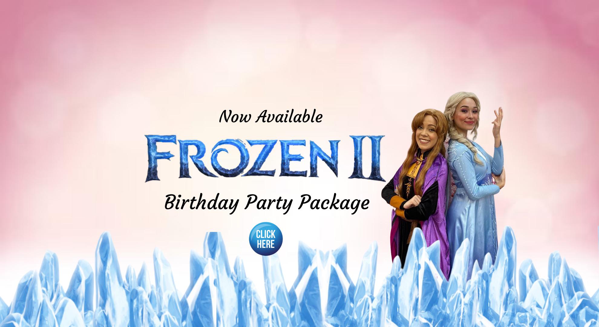 Little Princess Spa Frozen 2 party package