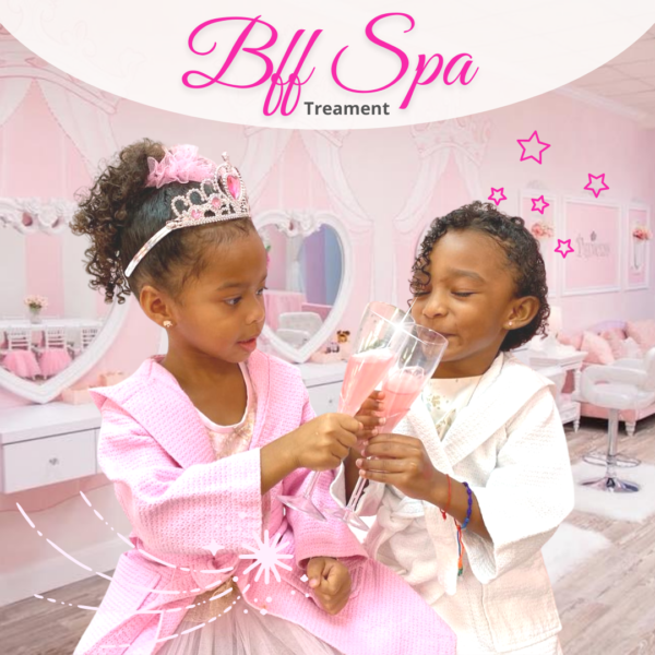 BFF Spa treatment at Little Princess Spa