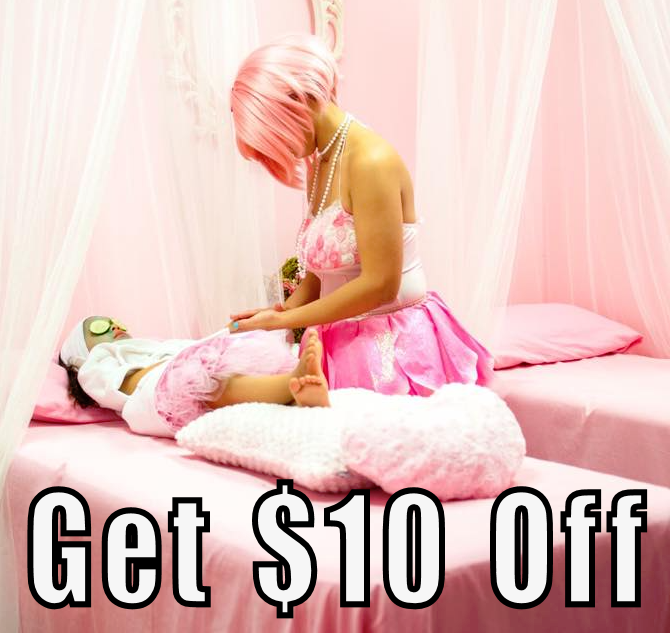 $10 Off Coupon Little Princess Spa