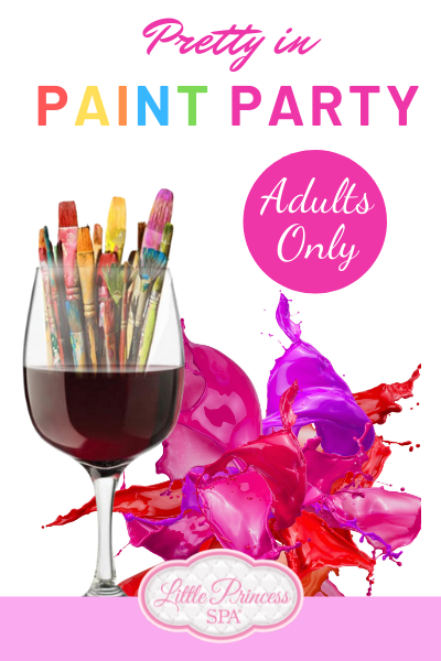 Pretty in Paint Adult Party
