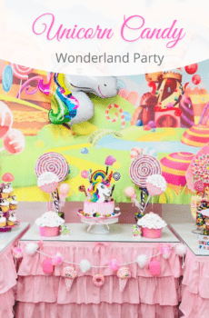 Little Princess Spa Candy Wonderland Party