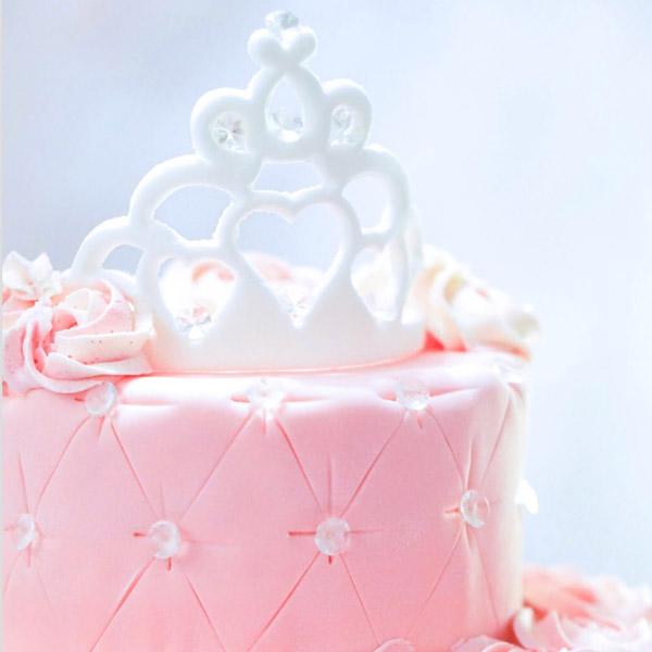 Add our custom cake   Little Princess Spa in Pembroke Pines