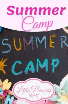 Summer Camp at Little Princess Spa