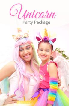 Unicorn Party at Little Princess Spa