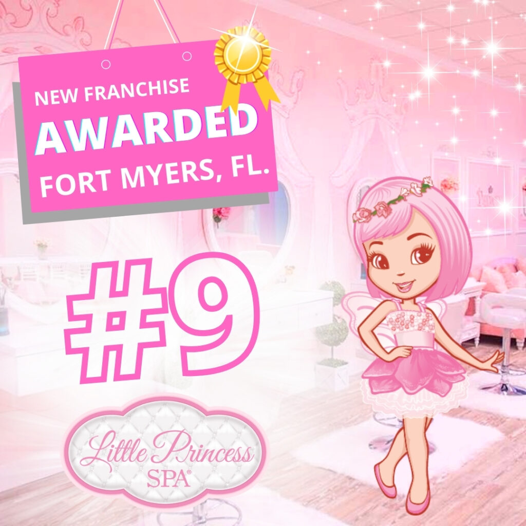 Little Princess Spa new franchise in Fort Myers Florida
